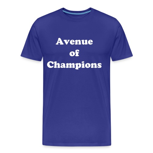 Avenue of Champions  - Men's Premium T-Shirt
