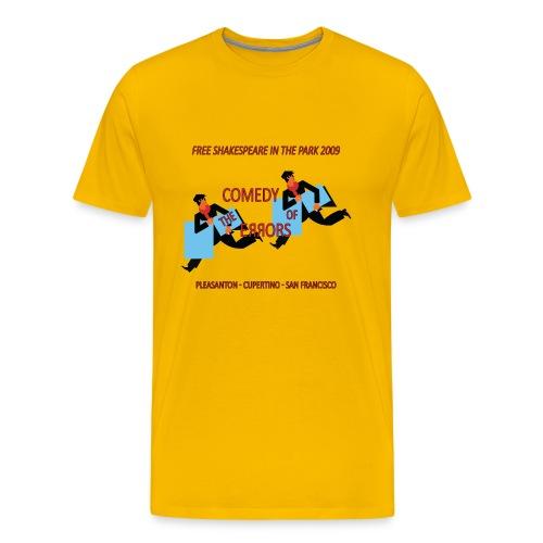 Men's Comedy of Errors Basic Tee - Men's Premium T-Shirt