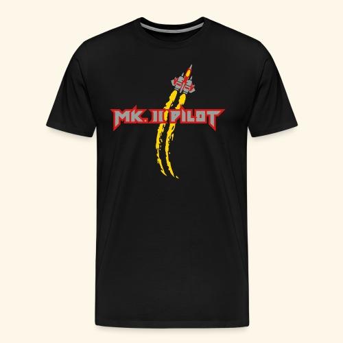 Mk. II Pilot (silver) - Men's Premium T-Shirt