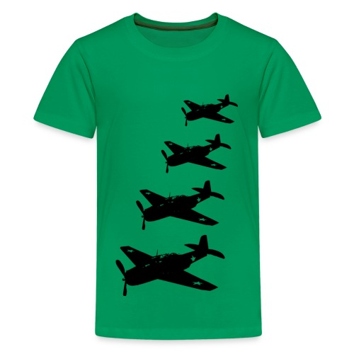 Planes x 4 - Kids' Premium T-Shirt