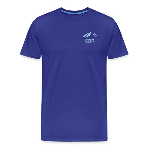 Men's Heavyweight T-Shirt/Front Logo - Men's Premium T-Shirt
