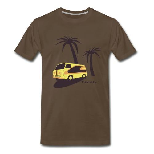 Van Man Tee - Men's Premium T-Shirt