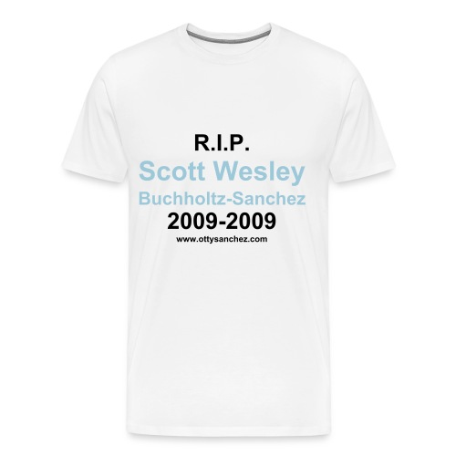 R.I.P. Scott Wesley - Men's Premium T-Shirt