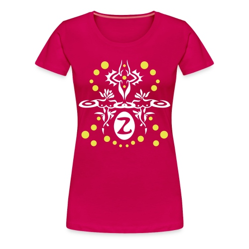 Initial Z like Zaphira or what your heart desires - Women's Premium T-Shirt