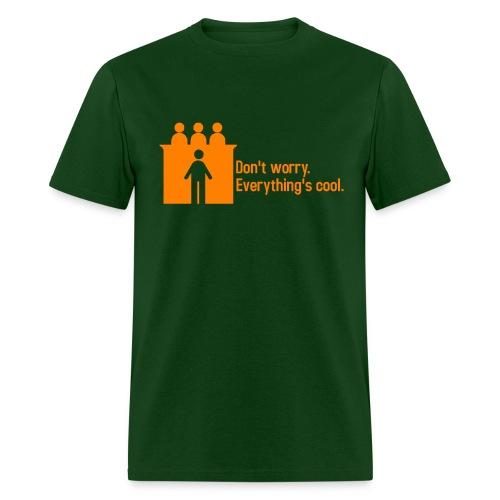 CourtRoom Confidence II - Men's T-Shirt
