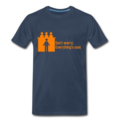 Courtroom Confidence I  - Men's Premium T-Shirt