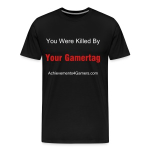 A4G You Were Killed By White/Red Ink - Men's Premium T-Shirt
