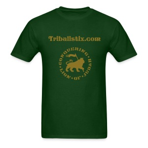 Green Lion Gold Tribalistix - Men's T-Shirt