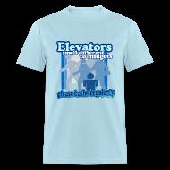 T-Shirts ~ Men's T-Shirt ~ Elevators Smell T-Shirt