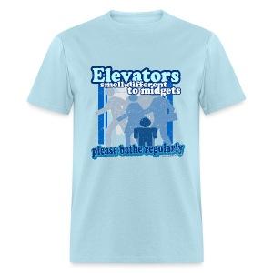 Elevators Smell T-Shirt - Men's T-Shirt