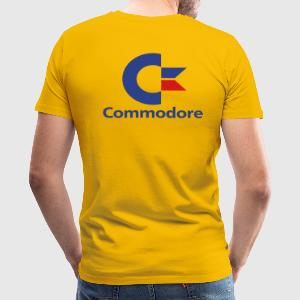 Gold c64 T-Shirts - Men's Premium T-Shirt