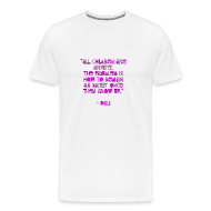 T-Shirts ~ Men's Premium T-Shirt ~ All children are artists. The problem is how to remain an artist once they grow up. -Dali