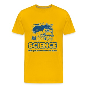 Science T-Shirt - Men's Premium T-Shirt