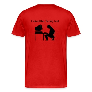 Heavyweight (Failed Turing Test on Back) - Men's Premium T-Shirt