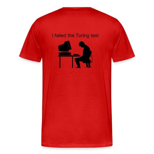 Heavyweight (Failed Turing Test on Back) - Men's Premium T-Shirt