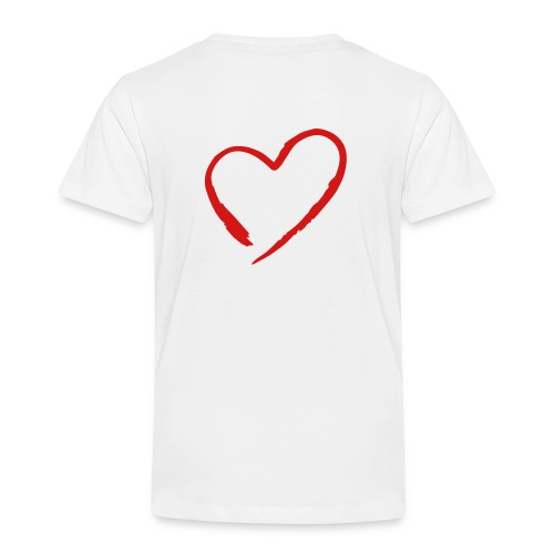 Heart - Red - Toddler Premium T-Shirt
