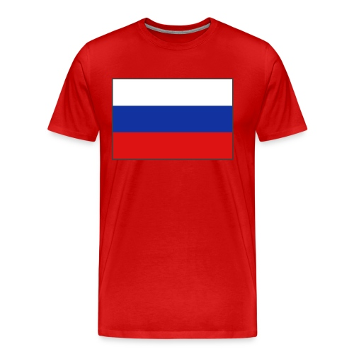 Russian flag Tee - Men's Premium T-Shirt