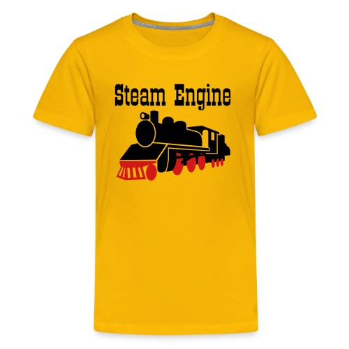 Steam Engine - Kids' Premium T-Shirt