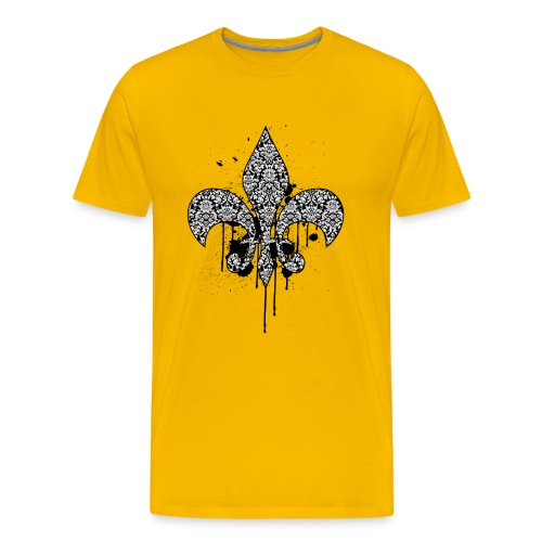 Damask Drips - Men's Premium T-Shirt