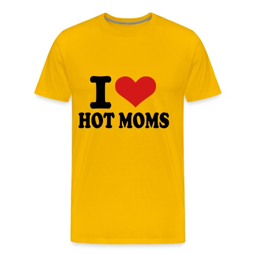 Hot Fashion Hot Moms - Men's Premium T-Shirt