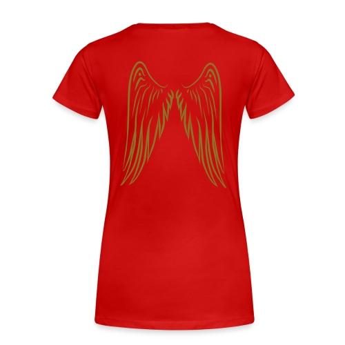 Plus Red Logo - Women's Premium T-Shirt