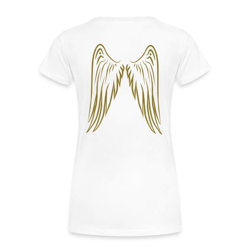 Plus Wht Logo - Women's Premium T-Shirt