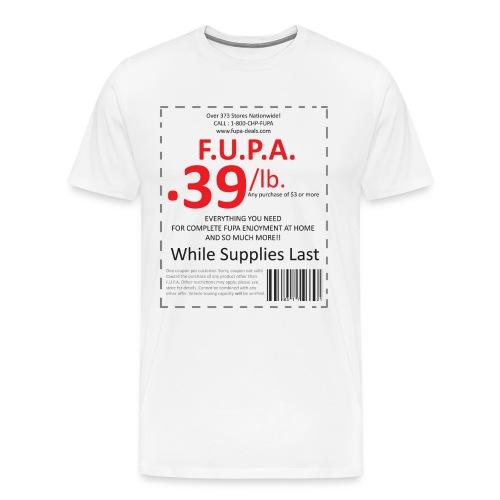 FUPA Coupon Light - Men's Premium T-Shirt