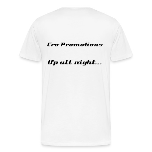 Up all night... - Men's Premium T-Shirt