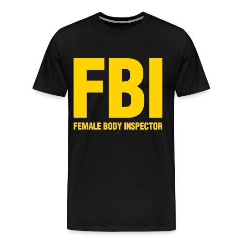 FBI Tee - Men's Premium T-Shirt