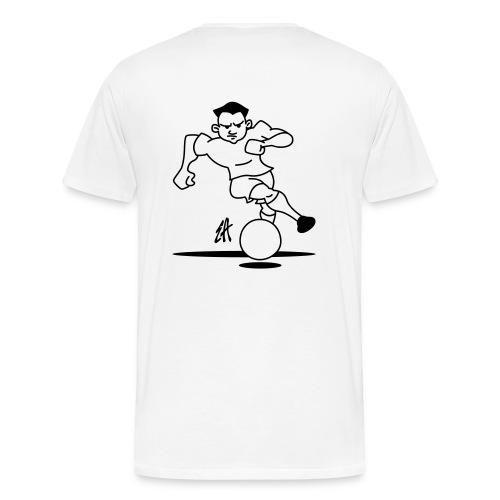 SOCCER PLAYER - Men's Premium T-Shirt