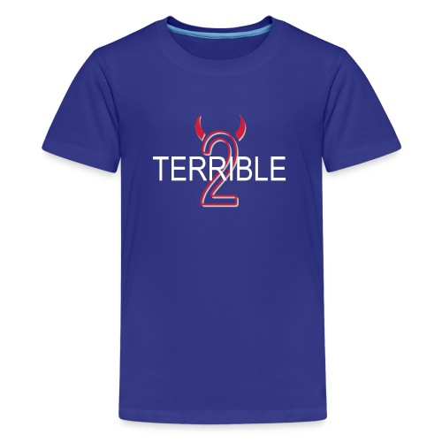 Terrible 2 - Classic Tee (blue) - Kids' Premium T-Shirt