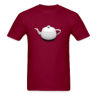 T-Shirts ~ Men's T-Shirt ~ Utah Teapot