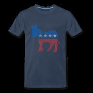 T-Shirts ~ Men's Premium T-Shirt ~ Democratic Donkey T-Shirt