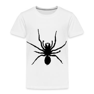 White black spider  Toddler Shirts