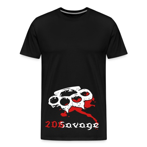 DAM 206 Savage Exclusive. Part of The Savage Apparell Line. - Men's Premium T-Shirt