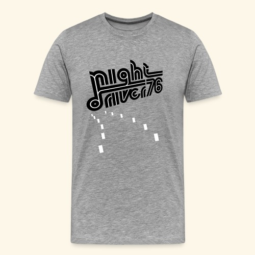 Night Driver '76  - Men's Premium T-Shirt