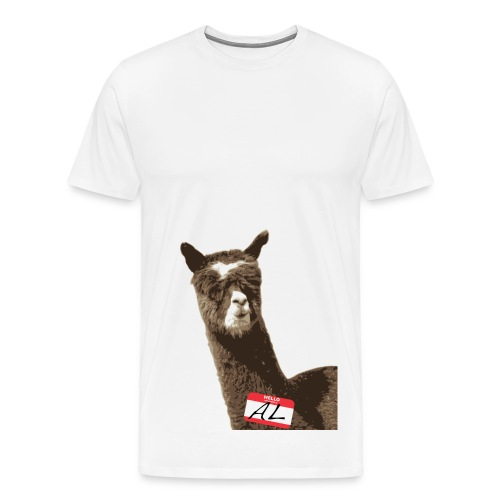 HELLO MY NAME IS AL - Men's Premium T-Shirt