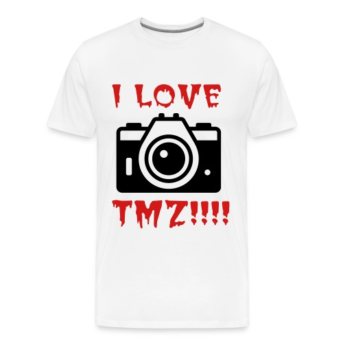 LOVE TMZ - Men's Premium T-Shirt