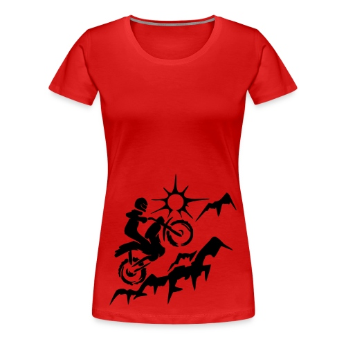MOTORCYCLE - Women's Premium T-Shirt