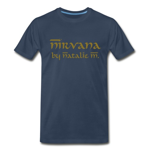 Nirvana by Natalie M. Men's Tee - Men's Premium T-Shirt