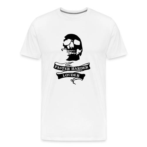 Faster Harder Louder - Men's Premium T-Shirt
