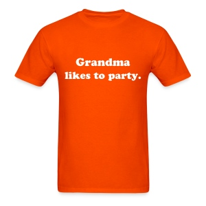 Grandma likes to party - Men's T-Shirt