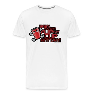 Flip My Cup! - Men's Premium T-Shirt