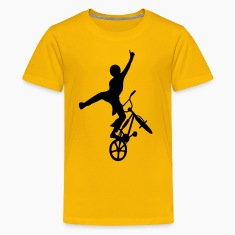 Yellow freestyler2 Kids' Shirts