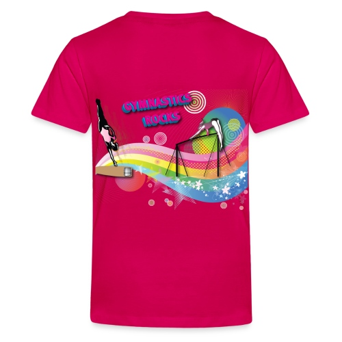 100% gymnast T-shirt - Kids' Premium T-Shirt