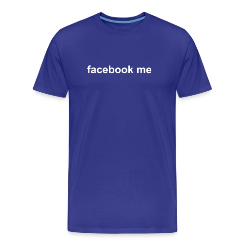 facebook me - Men's Premium T-Shirt