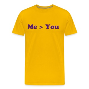 Better Than You Purple & Gold - Men's Premium T-Shirt