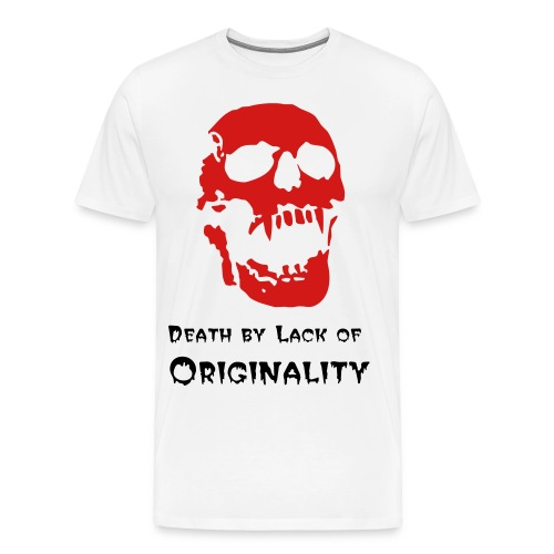 Death (White) - Men's Premium T-Shirt