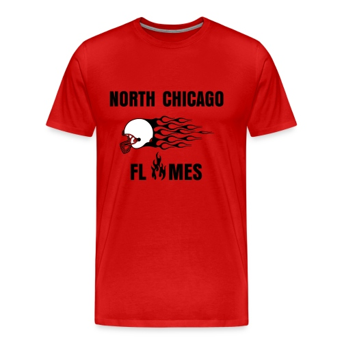 Red Flames Shirt - Men's Premium T-Shirt
