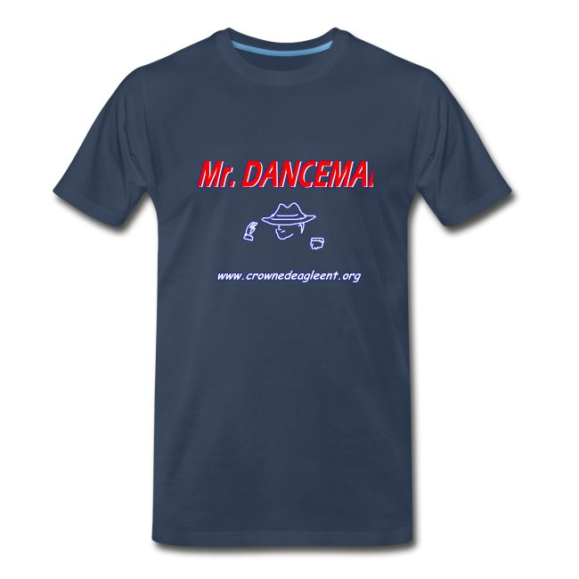 Mr. Danceman Shirt (in navy blue)